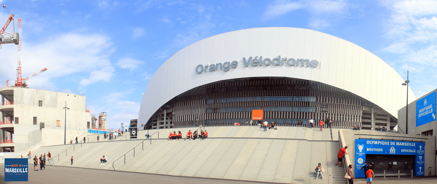 L'inauguration de l'Orange Vélodrome en images