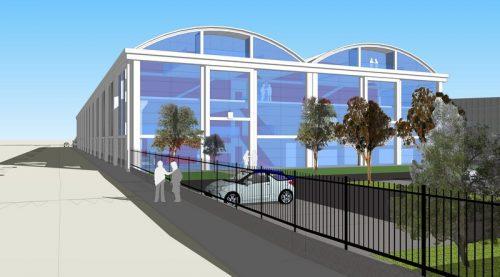 Projet de réhabilitation du bâtiment MRS2 © DR
