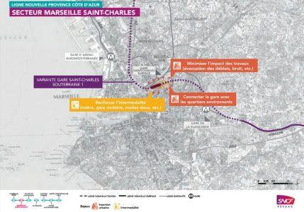 Le tracé retenu  © SNCF Réseau