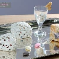Mais aussi des produits incontournables au mariage comme des dragées © Lamandine