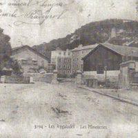 Le site des Aygalades (15e) en 1905 lorsqu'il servait encore comme minoterie © Savonnerie du Midi
