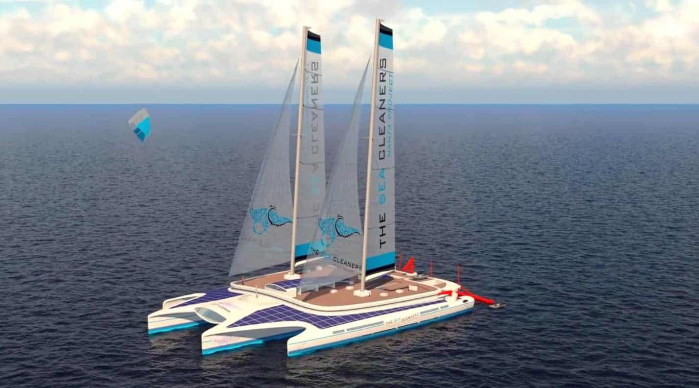 , Interview – Il invente le bateau qui nettoie les mers et veut l'installer à Marseille !