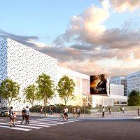 Le projet final de cinéma © MP&A Architectes