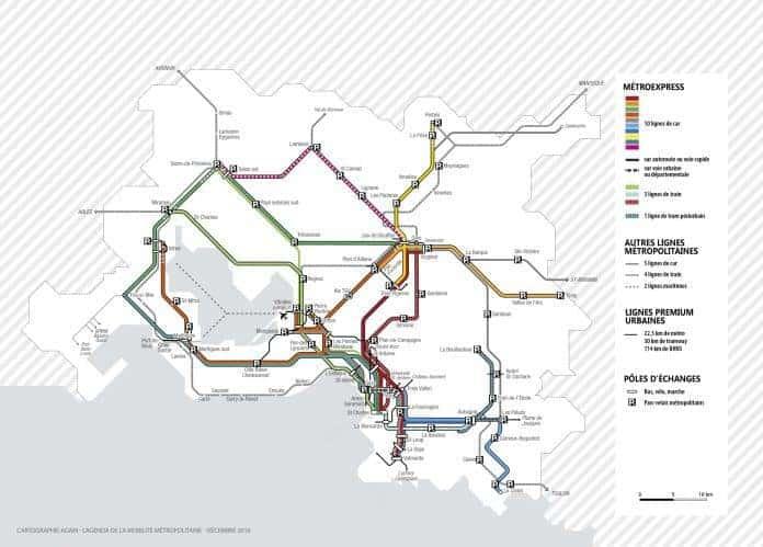 La m tropole valide ses projets de transports pour les 20 for Transport en commun salon de provence