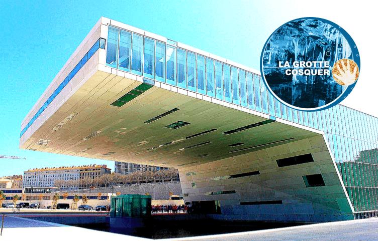 , Le musée de la grotte Cosquer ouvrira en 2021, deux architectes marseillais se disputent la réalisation