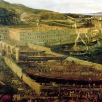 , Quand le Cours Estienne d'Orves avait des airs de Venise avec son canal