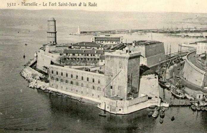 L histoire du canal saint jean qui reliait le vieux port - Parking vieux port fort saint jean marseille ...