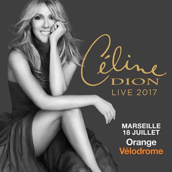 , Gagnez vos places pour le concert de Céline Dion à l'Orange Vélodrome