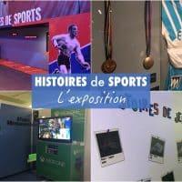 Histoires de Sports – L'exposition événement dopée aux jeux vidéos