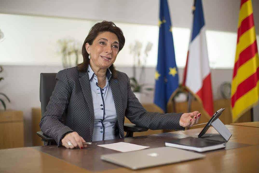 Portrait de la Présidente Martine Vassal