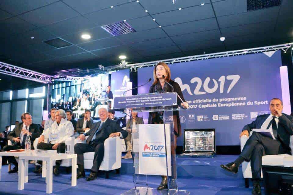 Martine Vassal a lancé l'événement labellisé MP2017, capitale européenne du sport