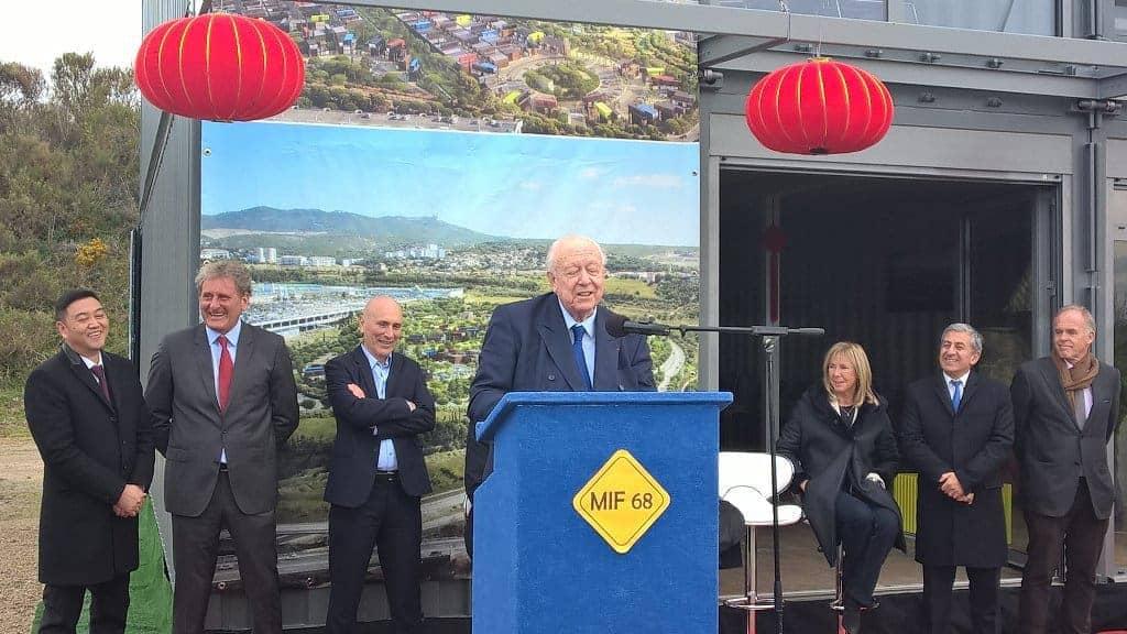 Le lancement du chantier a eu lieu le 10 février 2017