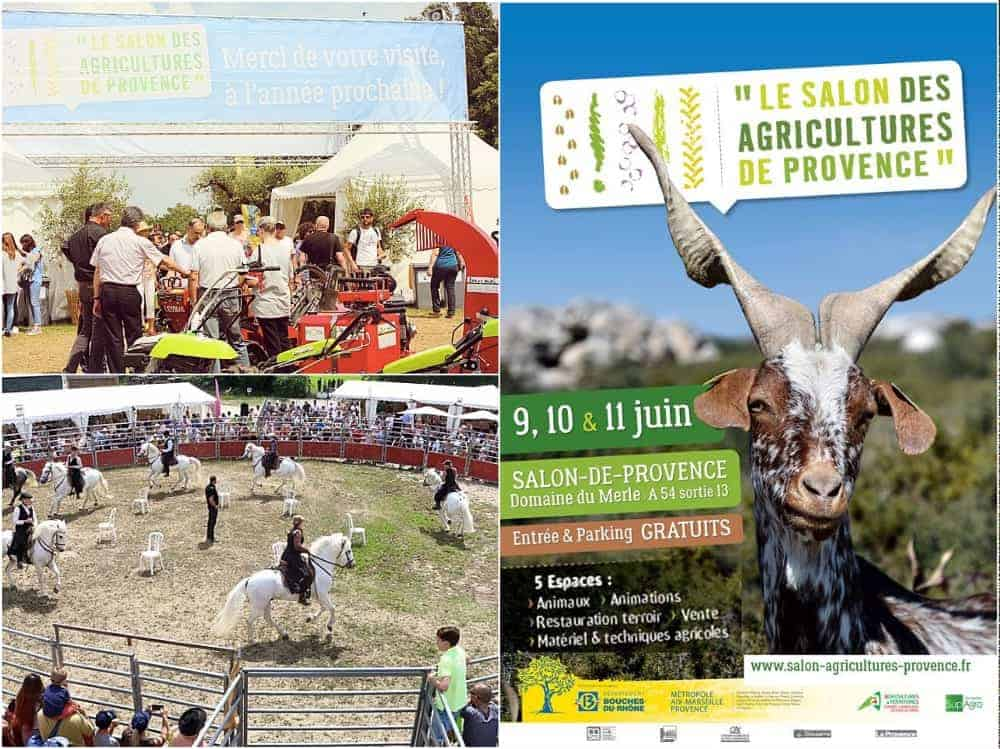 Top d part pour le salon des agricultures de provence 2017 for Distance marseille salon de provence