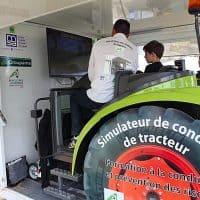 Le simulateur de tracteur