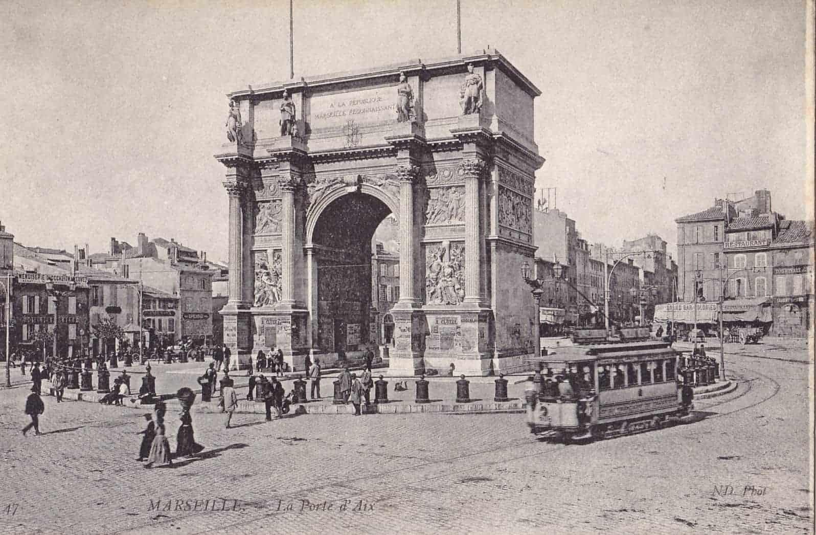 Plong 233 E Dans L Histoire De La Porte D Aix L Arc De