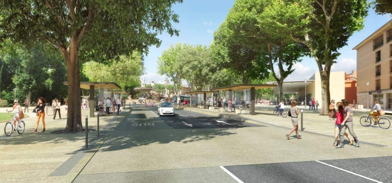 , Avec l'Aixpress, Aix va enfin lancer sa grande ligne de bus électrique, Made in Marseille, Made in Marseille