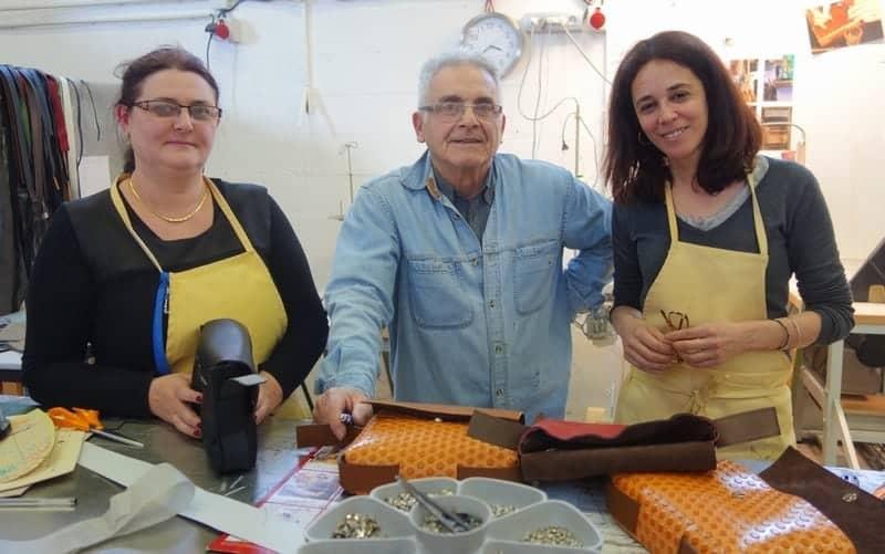 , Nouria Nehari, de la maroquinerie d'excellence dans les quartiers nord de Marseille