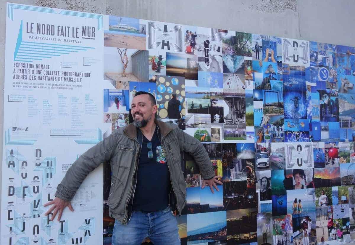 exposition le nord fait le mur un portrait de marseille par ses habitants made in marseille. Black Bedroom Furniture Sets. Home Design Ideas