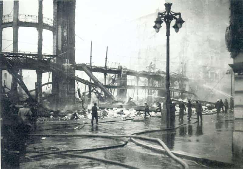 , Histoire de l'incendie qui a ravagé les Nouvelles Galeries de la Canebière