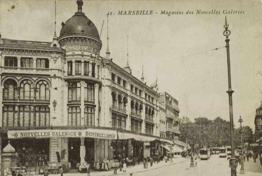, Histoire de l'incendie qui a ravagé les Nouvelles Galeries de la Canebière, Made in Marseille, Made in Marseille