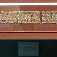 Des bouts de tissus islamiques du XIIe siècle aussi exposés