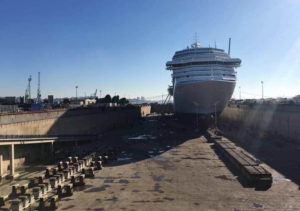 port, Le port de Marseille va réparer les plus grands bateaux du monde
