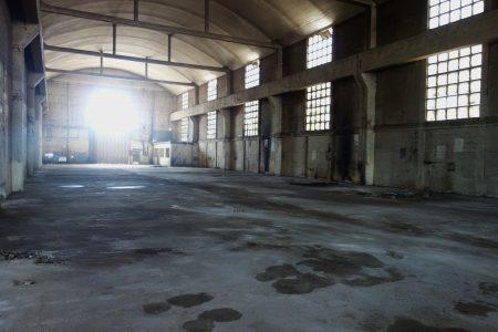Les deux hangars du bâtiments MRS2 © AP