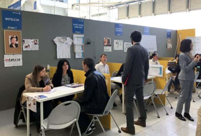 Session job dating au Forum de l'Emploi