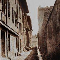La rue de la Treille avec au fond le boulevard des Dames