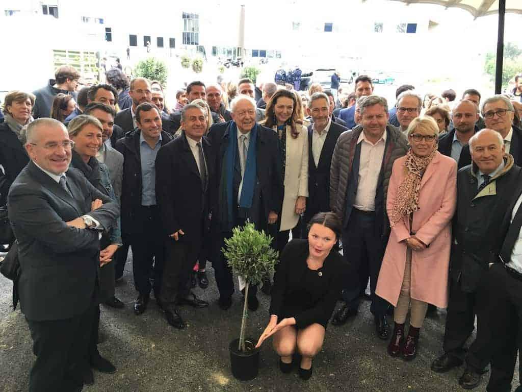 De nombreux élus étaient présents pour inaugurer la zone d'activité Saint Antoine
