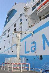 branchement-navire-meridionale-quai-port
