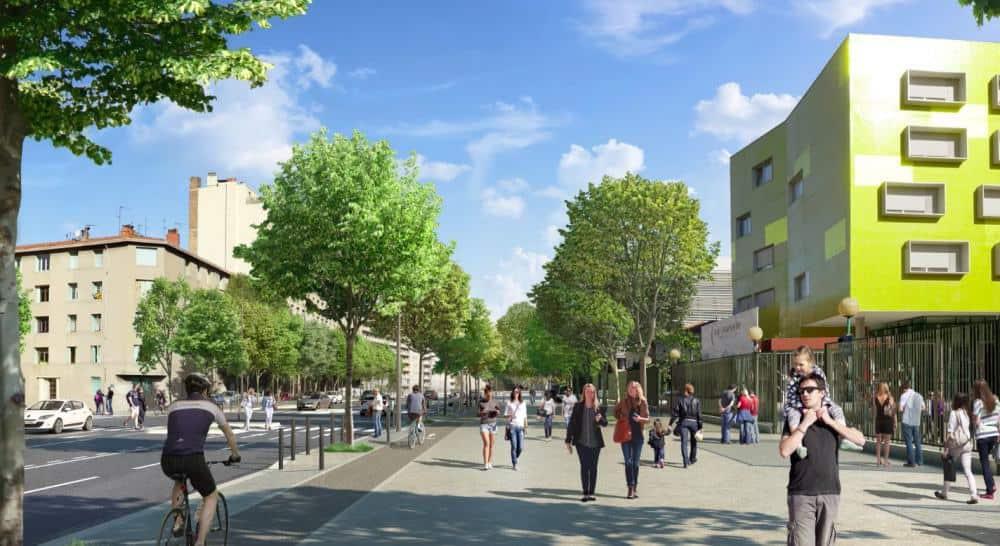 Jarret, Le Jarret se redessine avec des pistes cyclables et de nouveaux arbres, Made in Marseille