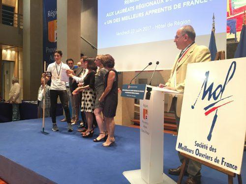 , La région PACA récompense ses « Meilleurs Apprentis de France », Made in Marseille