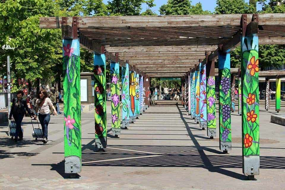 , Le Cours Julien se paye une pergola à la mode street art, Made in Marseille, Made in Marseille
