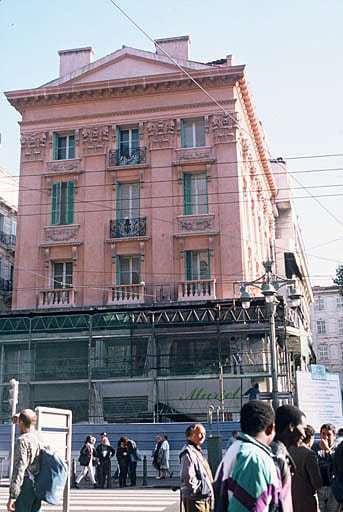 , L'histoire de la Maison du Figaro, ex Espace Culture, sur la Canebière