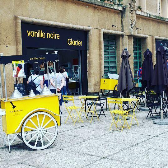 , Une glace à la vanille légèrement salée chez Vanille Noire, Made in Marseille, Made in Marseille