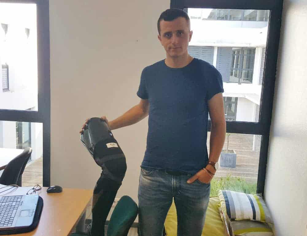 , Rencontre avec Arnaud Pioli, créateur de la première genouillère 2.0