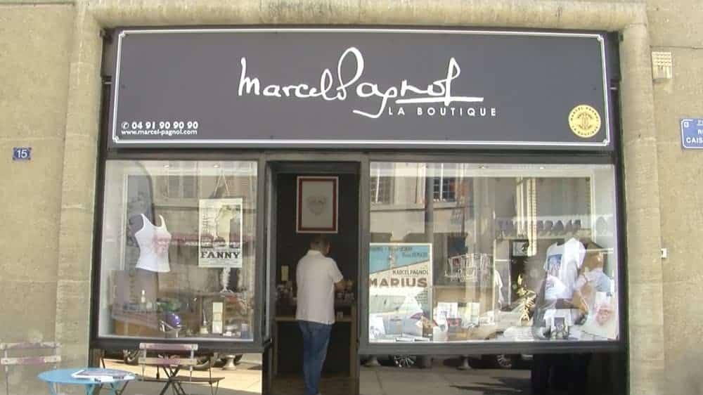 , Une boutique « Marcel Pagnol » ouvre dans le quartier du Panier