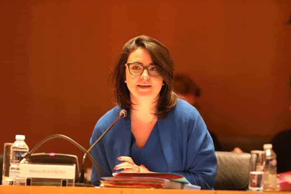, Marine Pustorino «Le département met tout en œuvre pour mener la bataille contre le chômage»