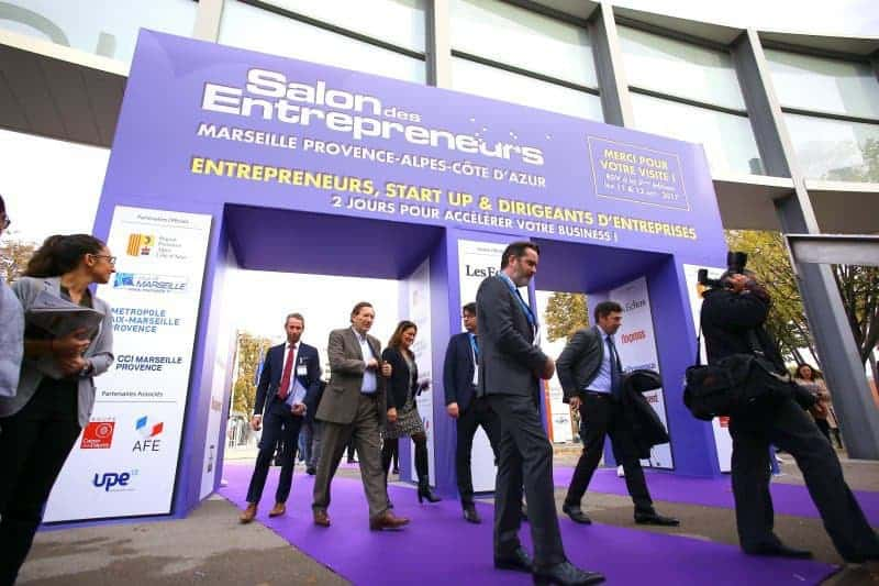 Les rdv immanquables du salon des entrepreneurs sde2017 for Salon marseille parc chanot