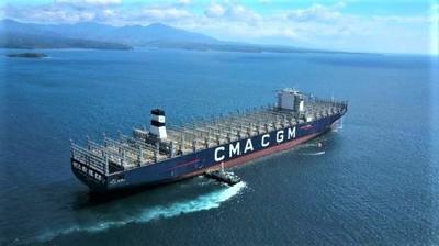 La cma cgm s 39 offre le plus gros porte conteneur au monde made in marseille - Le plus gros porte conteneur ...