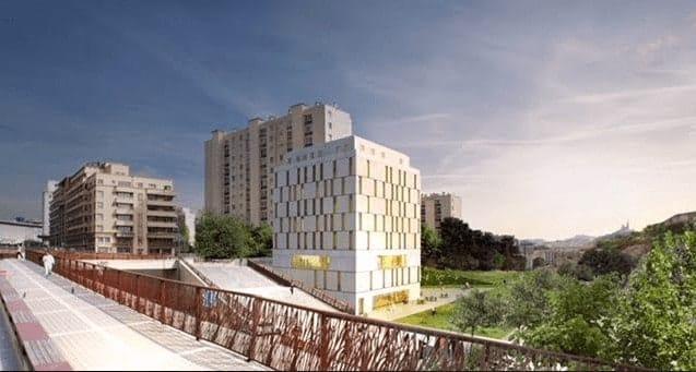 , Une résidence étudiante en chantier dans le futur parc Saint-Charles, Made in Marseille, Made in Marseille