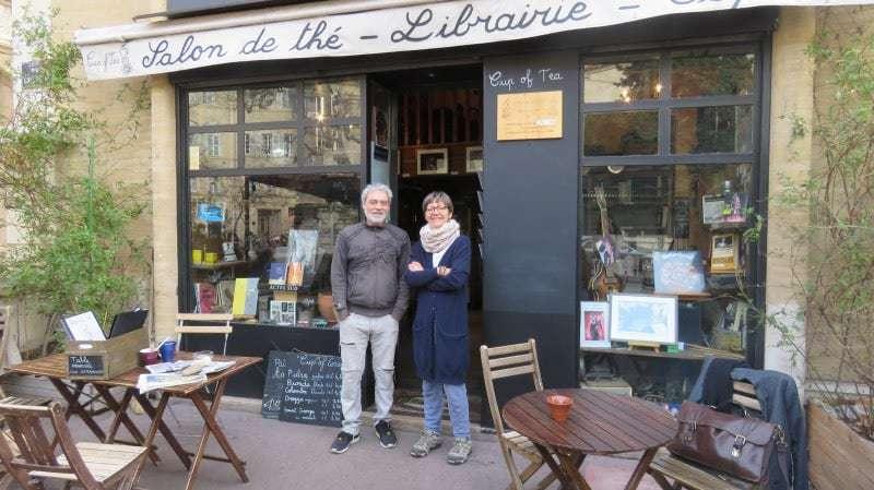 salon de thé, librairie, Cup oh Tea