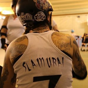 tatouages roller derby