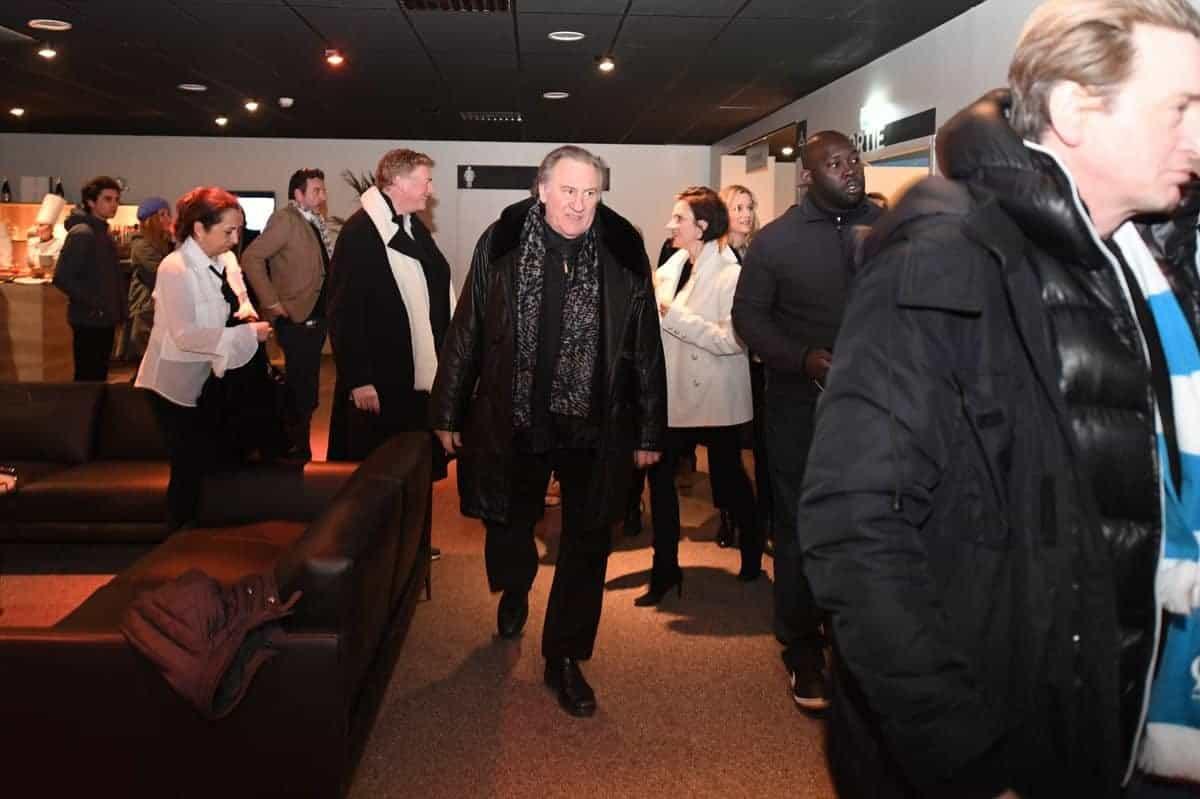 Depardieu et Magimel de la série Marseille, Netflix