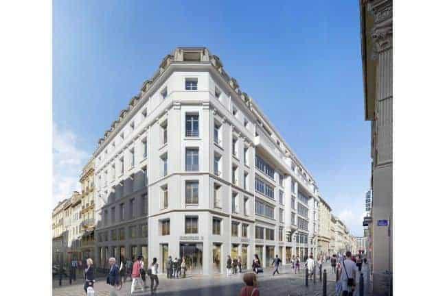 , Logements, bureaux, commerces, rooftop en chantier dans les ex Galeries Lafayette