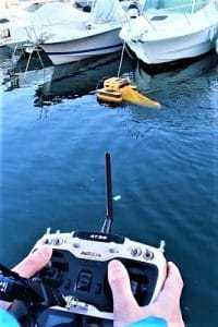 robot marin téléguidé