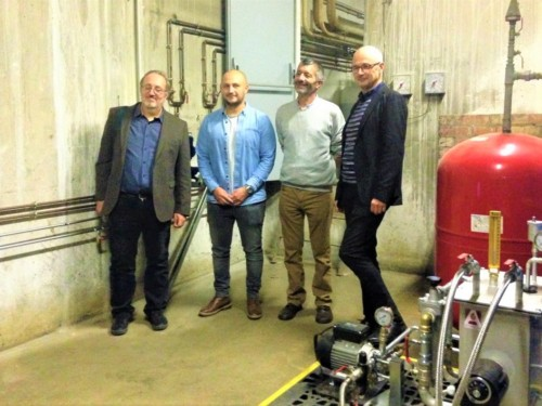 , Oléo-Déclic – l'huile de restaurant recyclée chauffe un centre de tri de la Poste
