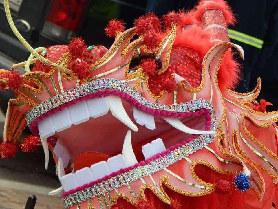 defilé nouvel an chinois Canebière