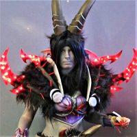 japan expo cosplay diable bouc